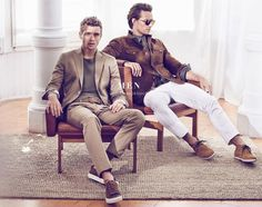 Benjamin Eidem and Dave Genat for Massimo Dutti