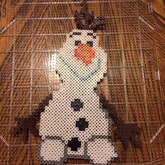 Frozen * Olaf perler bead pattern 1/2