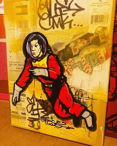9 x 6 inches #Art #Artist #Graffiti #Artists #Street #MobbDeep #Keath #Sodapop #love #KeathSodapop #alien #instagood #photo #pic #photography #streets #c2x #mlm #chgo #chicago #explore #vintagepot #phorcmk #golden #space #astronaut #polo #forsale #artwork #artforsale