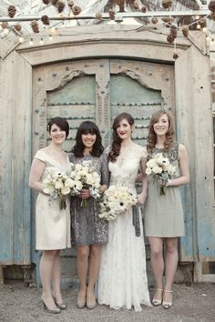 What a stylish bunch! Photo by Alison Conklin Photography