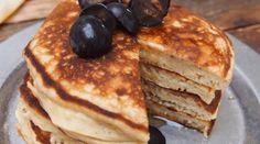 Pancakes healthy et ultra facile à la banane (sans sucre, sans matière grasse)