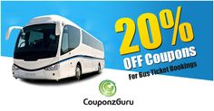 Get up to 20% discount on #bus booking from leading bur portal like #redbus.in, #ticketgoose, #abhibus and for offer and deal @http://bit.ly/1uqNp72