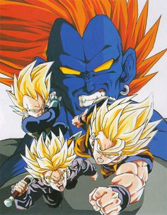 android android 13 angry dragon ball dragonball z energy evil fangs flying looking at viewer male focus multiple boys muscle orange hair scan serious son gokuu super saiyan sword trunks (dragon ball) vegeta weapon - Image View - Dragon Ball Gt, Android 13, Super Android, Dragonball Super, Dragon Tattoos For Men, Manga Dragon, Ball Drawing, Anime Merchandise, Anime Costumes