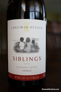 Leeuwin Estate Siblings Margaret River Shiraz 2008 - Super Shiraz