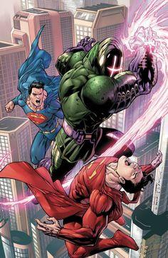Convergence - Superman by Tony Daniel * Marvel Comics, Action Comics 1, Hq Marvel, Arte Dc Comics, Dc Comics Art, Cosmic Comics, Dc Heroes, Comic Book Heroes, Comic Books Art