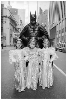 Batman and Little Barbies, Mary Ellen Mark