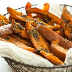 Herb-Roasted Sweet Potato Skins on BigOven: Recipe from Whole Foods. This recipe is extra flavorful.