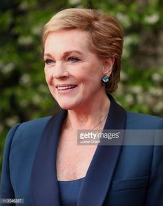 ... Actress Julie Andrews arrives at the Backstage at The Geffen Gala Honoring Julie Andrews and CAA ...