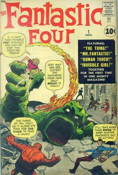 COMIC fantastic four 25 #comic #cover #art