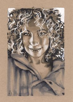 River Song Copic Marker Art Illustration by *AllisonSohn on deviantART