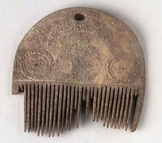 Comb  Celtic (Scotland), 0-200 AD  The National Museum of Scotland