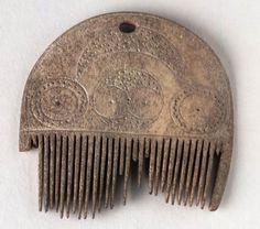 Comb, Celtic (Scotland), 0-200 AD. The National Museum of Scotland