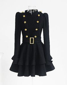 Whoa Baby! Yessss... this feeds the military Fashion tweaked Rocker in me:) My girl child would like this as well. Totally up her alley.