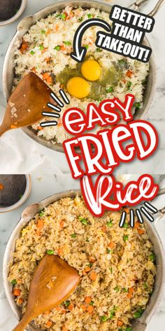 Quick Easy Dinner, Easy Dinner Recipes, Easy Meals, Rice Dishes, Food Dishes, Cooking Jasmine Rice, Side Recipes, Amish Recipes, Pasta