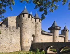 La Cité medieval de Carcassonne, Patrimonio de la Humanidad desde 1997.