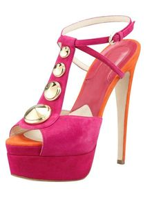 65.00$  Buy now - http://alijpf.worldwells.pw/go.php?t=32443351785 - Sandals Woman New Arrival Open Toe Thin High Heels Buckle Strap High Platform Handmade Mixed Color Rivets In Party Ladies Shoes