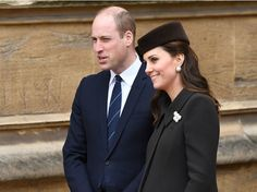Kate Middleton, Prince William and Queen Elizabeth gather for Easter service at Windsor Royal Prince, English Royalty, Princess Kate, British Royals, Duchess Of Cambridge, Prince William, Queen Elizabeth, Kate Middleton, Easter Service