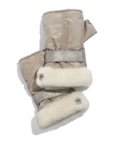 Shearling hand warmers