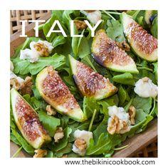 Fig salad from the bikini cookbook ITALY