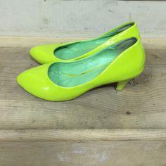 Lime Green High Heel