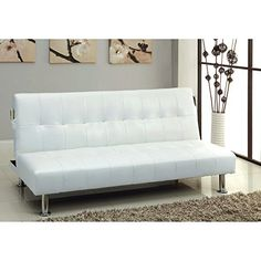 Furniture of America Fabric Convertible Futon with Side Pockets ** For more information, visit image link.