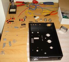 Tube Amp Chassis and Parts