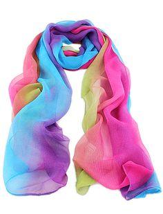 Multicolor+Rainbow+Print+Scarves+11.32