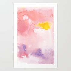 Lemon Cloud #2 by JLWojinski available via society6 now!