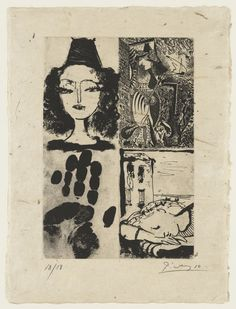 """book of poems """"La Barre Pablo Picasso, Barre, Drawing Sketches, Drawings, Book Of Poems, Moon Child, Illustration, Artist, Painting"""