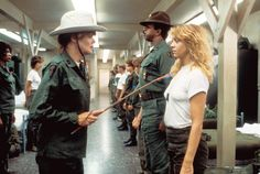 In Private Benjamin, Goldie Hawn deploys some seriously tough fashion. Shop her look in The Mag now.
