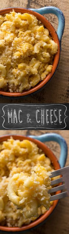 Baked Mac & Cheese Casserole - The best comfort food. Have for a side dish or a meal.