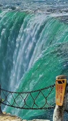 Wonderful Waterfall View #wonderful #waterfall #amazing