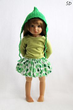 Bubble skirt for Kidz'n'Cats 18 inch dolls