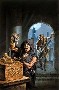 Prince of Lankhmar by Clyde Caldwell