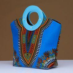 Dashiki Handbag - Afrination By Kofi Jr. African Accessories, Handbag Accessories, Fashion Handbags, Fashion Bags, Ankara Bags, Sacs Design, Quilling Patterns, Printed Bags, African Fabric