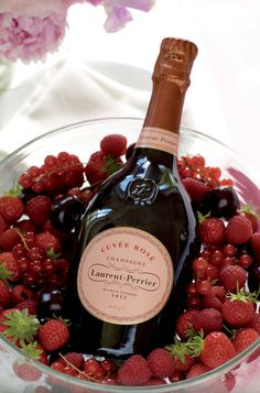 Laurent Perrier Cuvee Rose Champagne, Unique in terms of its history, the way it is made, and the design of its bottle. https://www.sparklingdirect.co.uk/blog/post/laurent-perrier-cuvee-rose-champagne.aspx