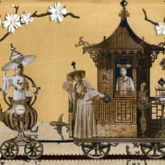 Mme. Oolong's Traveling Teahouse - PRINT