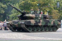 Leopard main battle tank