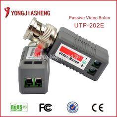New UTP video balun single channel passive video balun Cat5 RJ45 Balun Transceiver CCTV Video power #women, #men, #hats, #watches, #belts, #fashion