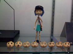 Stop motion puppet Coraline Movie, Coraline Art, Coraline Jones, Animation Stop Motion, 3d Animation, Scary Movie 2, Monsters Inc, Stop Motion Movies, Laika Studios