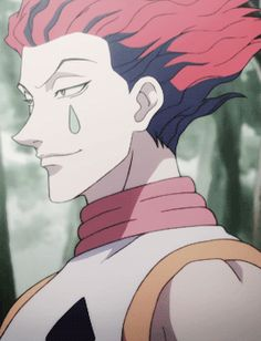 Hisoka Hunter x Hunter | When someone loses all hope in front of you, and shits about to get down right bloody, but you're trying to keep your snickering to a minimum so you don't miss a split second of the show. (ღˇ◡ˇ)