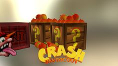 Crash Bandicoot Asset File, John Kavanagh on ArtStation at…