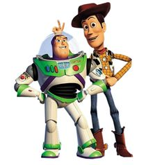 Woody and Buzz Lightyear are inspired by Toy Story director John Lasseter's own childhood toys. He based Woody on his own pull-string Casper doll, and once he grew out of Casper he moved on to a G.I Joe, a flashy toy at the time of his childhood.