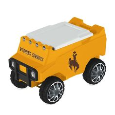 Wyoming Cowboys Remote Control Cooler w/ Bluetooth MP3 Speakers