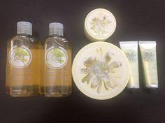 The Body Shop Moringa Shower Gel, Cream Body Scrub, Body Butter & Hand Cream  #TheBodyShop #Moringa #ShowerGel #BodyScrub #BodyButter #HandCream #Skincare #Spa