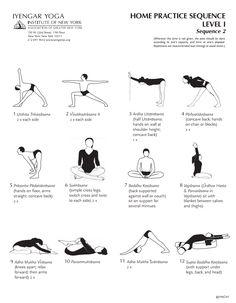 tadasana variantes  yoga iyengar nombres de posturas de