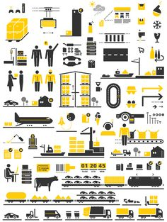 DHL Discover Logistics Iconography - 2erpack studios