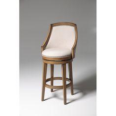"Found it at Wayfair - Charleston 30"" Swivel Bar Stool with Cushion"
