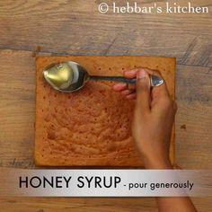 honey cake recipe Honey Cake Recipe Indian, Honey Apple Cake Recipe, Cake Recipe Without Sugar, Cake Recipes Without Eggs, Easy Vanilla Cake Recipe, Recipes Using Cake Mix, Rice Cake Recipes, Sponge Cake Recipes, Honey Bun Cake