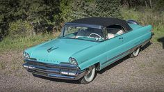 1956 Lincoln Premiere Convertible 368/275 HP, Automatic presented as lot S156 at Denver, CO 2015 - image1